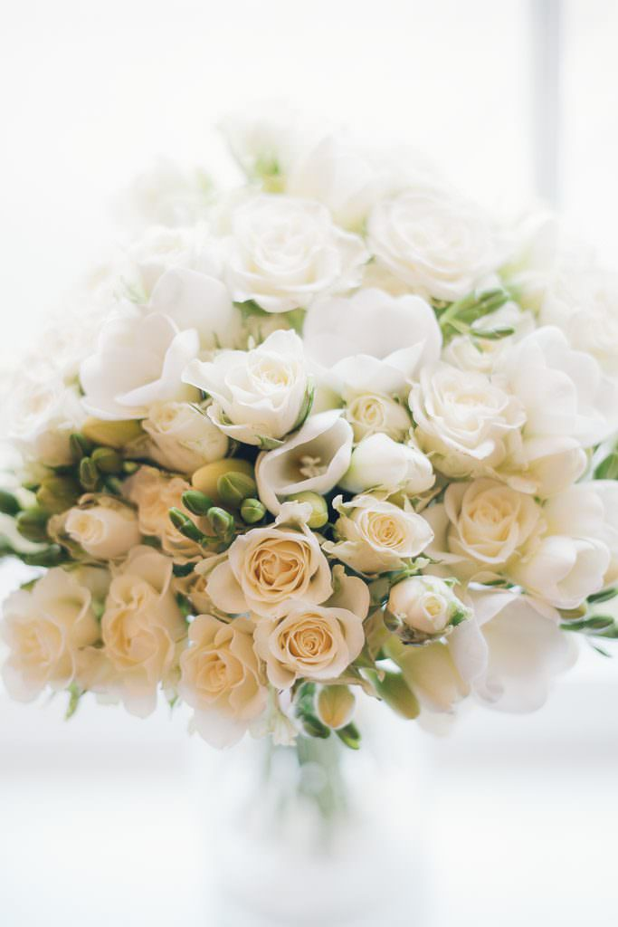 bridal bouquet made by Rose Hip Florists