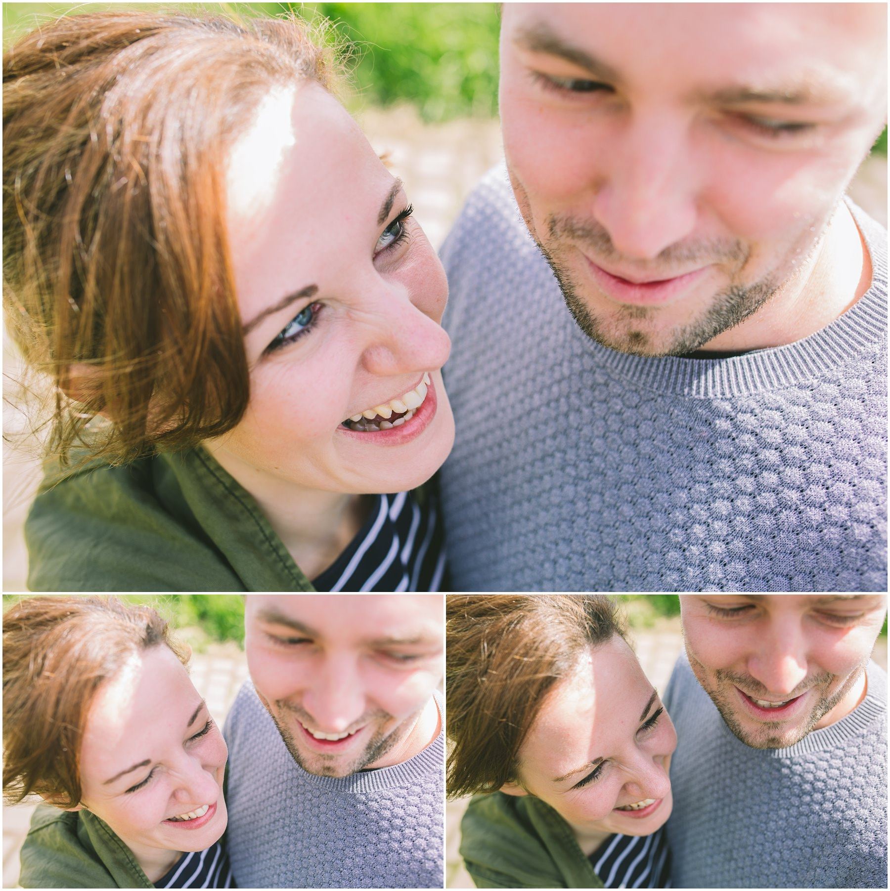 Danny and Lauren on their Ramsbottom engagement shoot