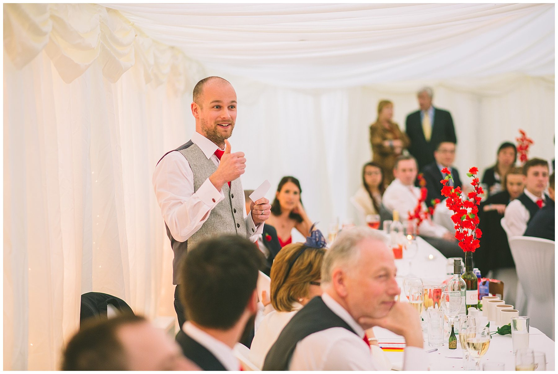 Grooms Speech at Pentre Mawr