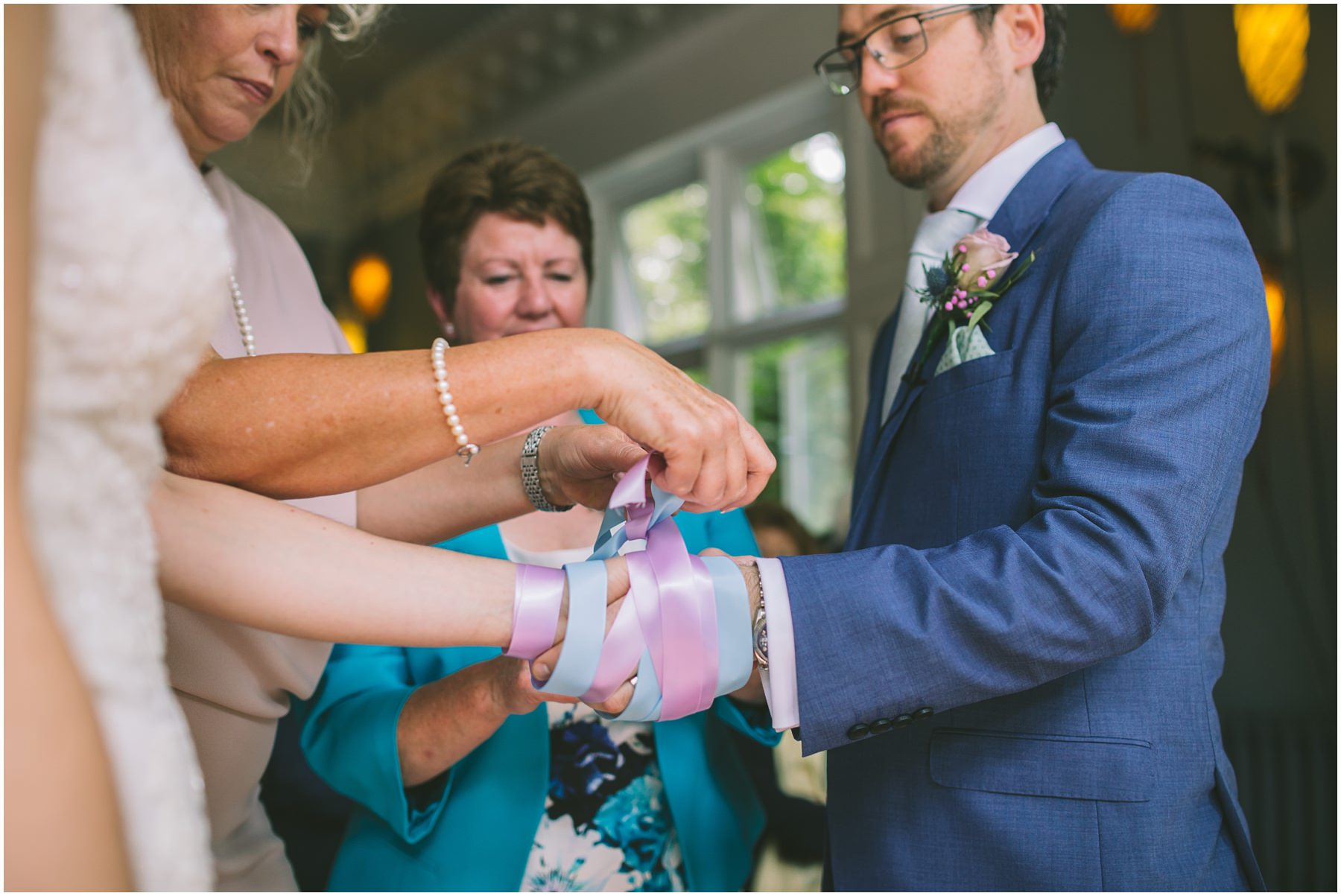 Hand fasting Ceremony at didsbury house hotel