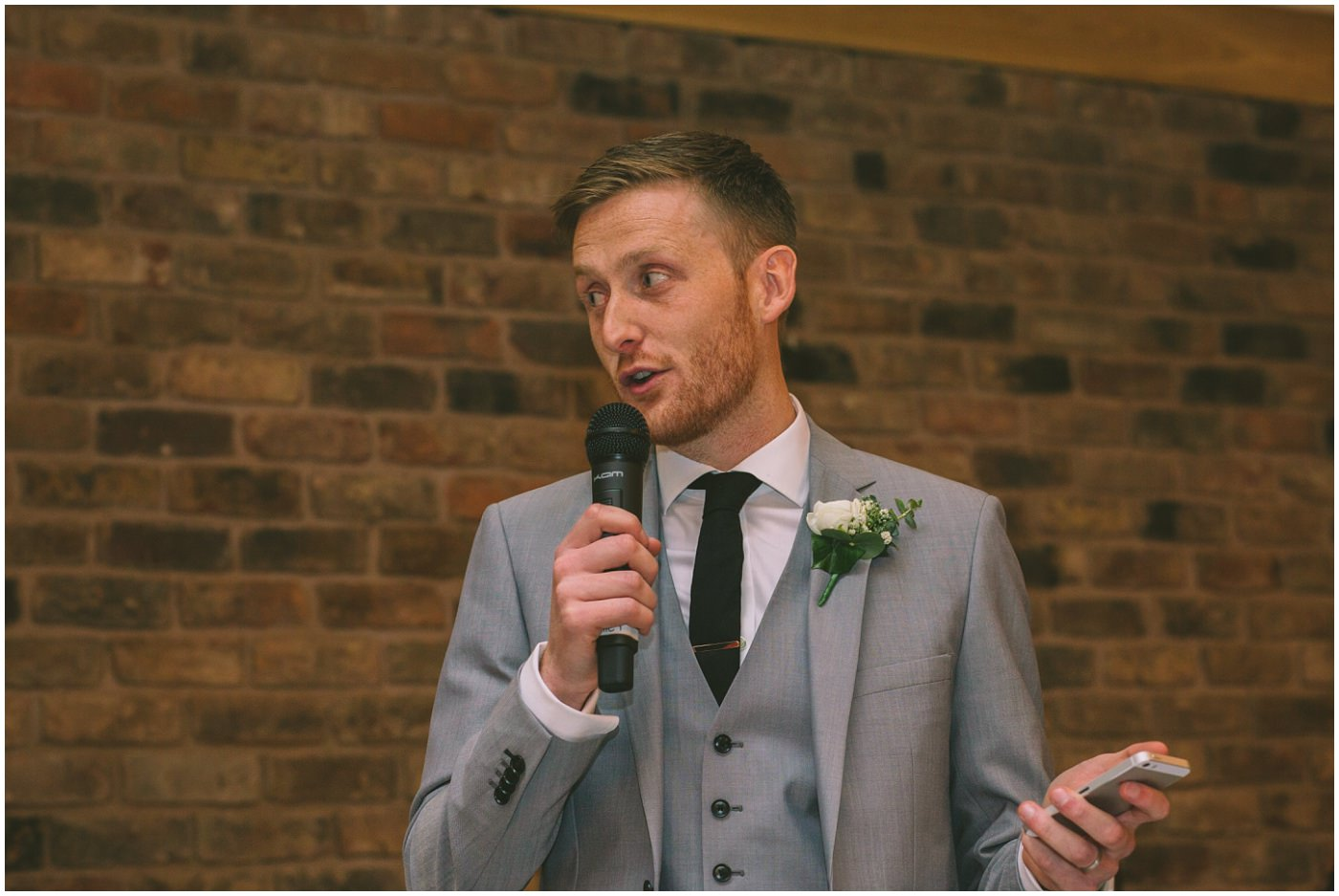 grooms speech at pryors hayes
