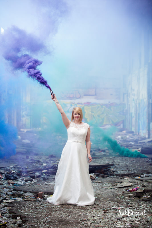 Smoke Grenade Wedding