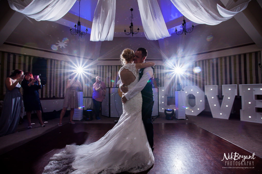Bride and Groom First Dance at The Willows San Marco