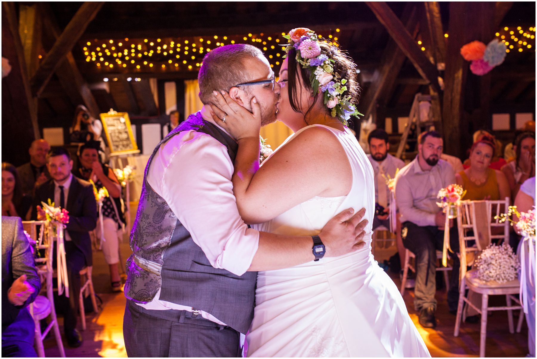 Rivington Barn Wedding Photography // Callum and Emma