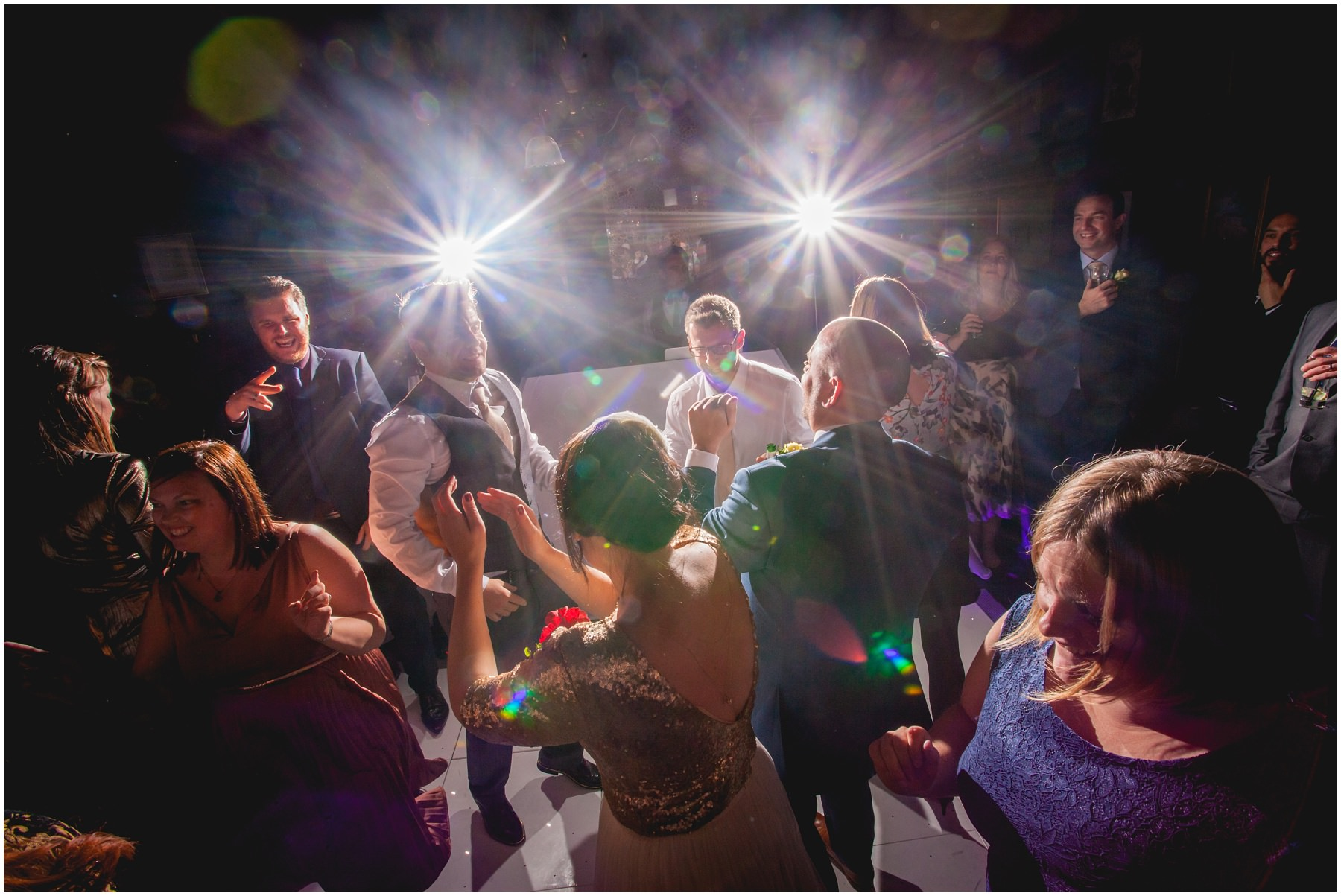 Dance Floor party at the belle epoque