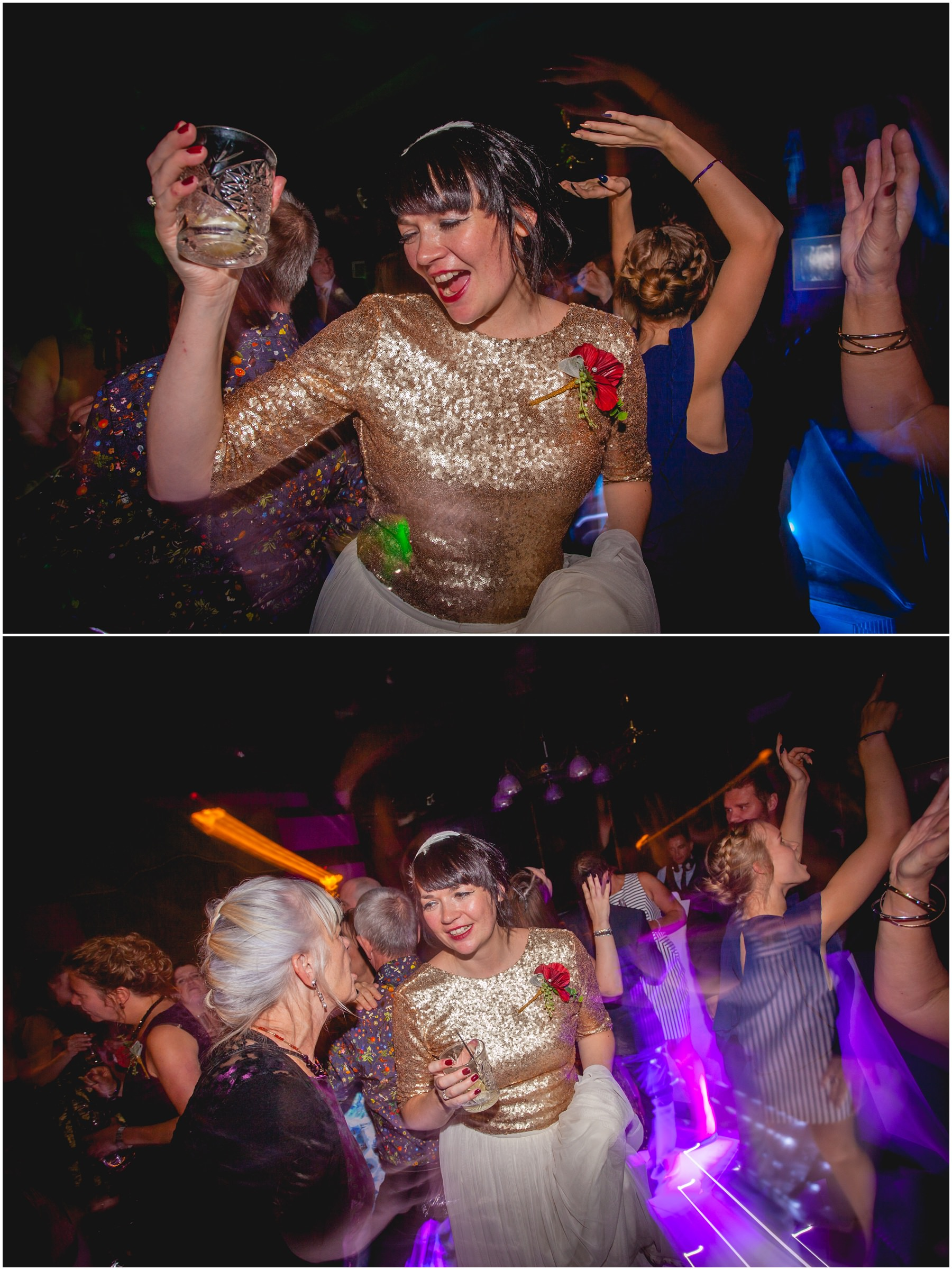 Bride parties at the belle epoque