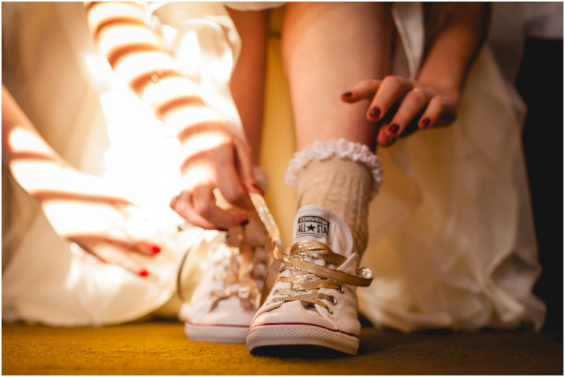 wedding day converse