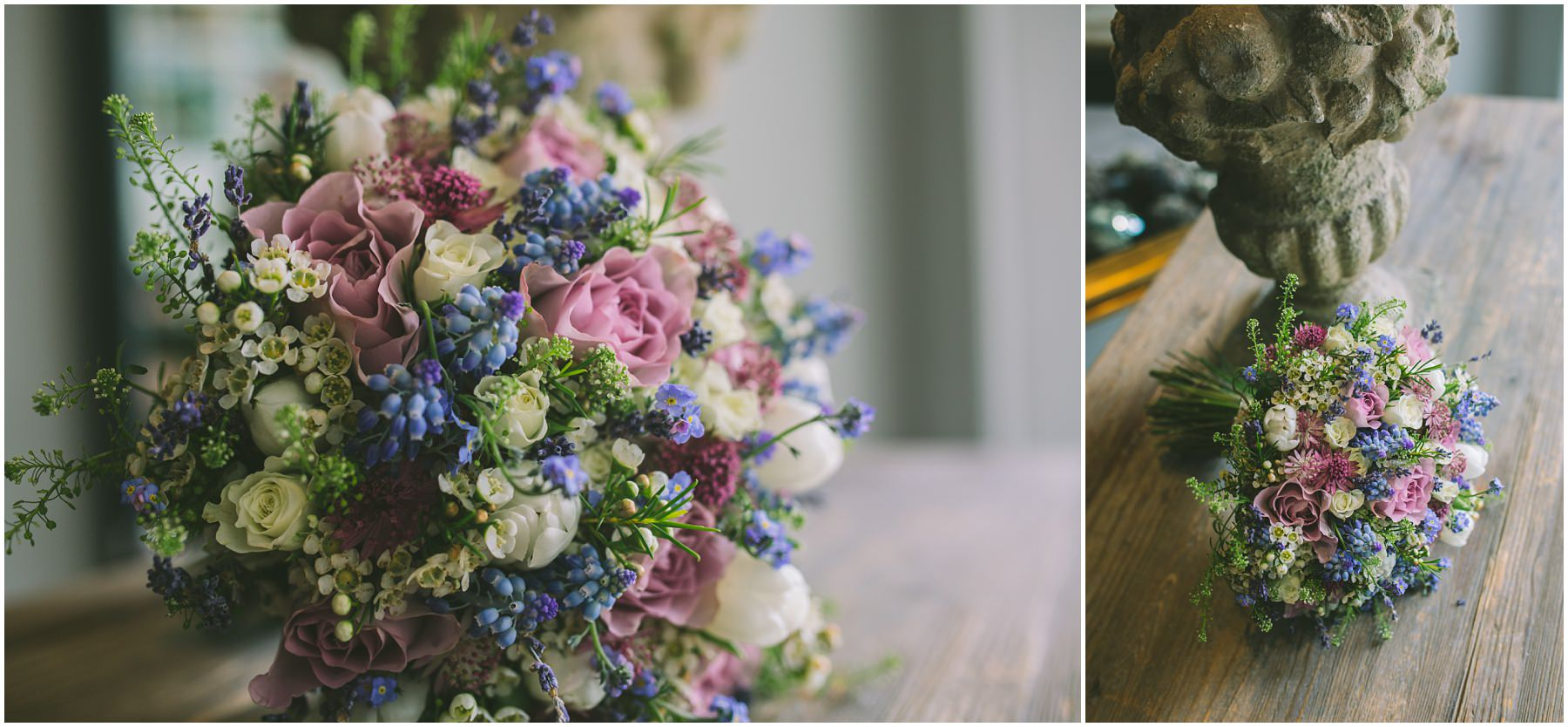 Wedding flowers by The Flower Lounge