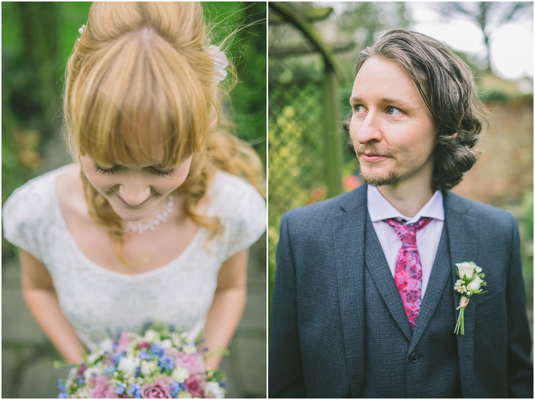 Bride and Groom at Eleven Didsbury Park