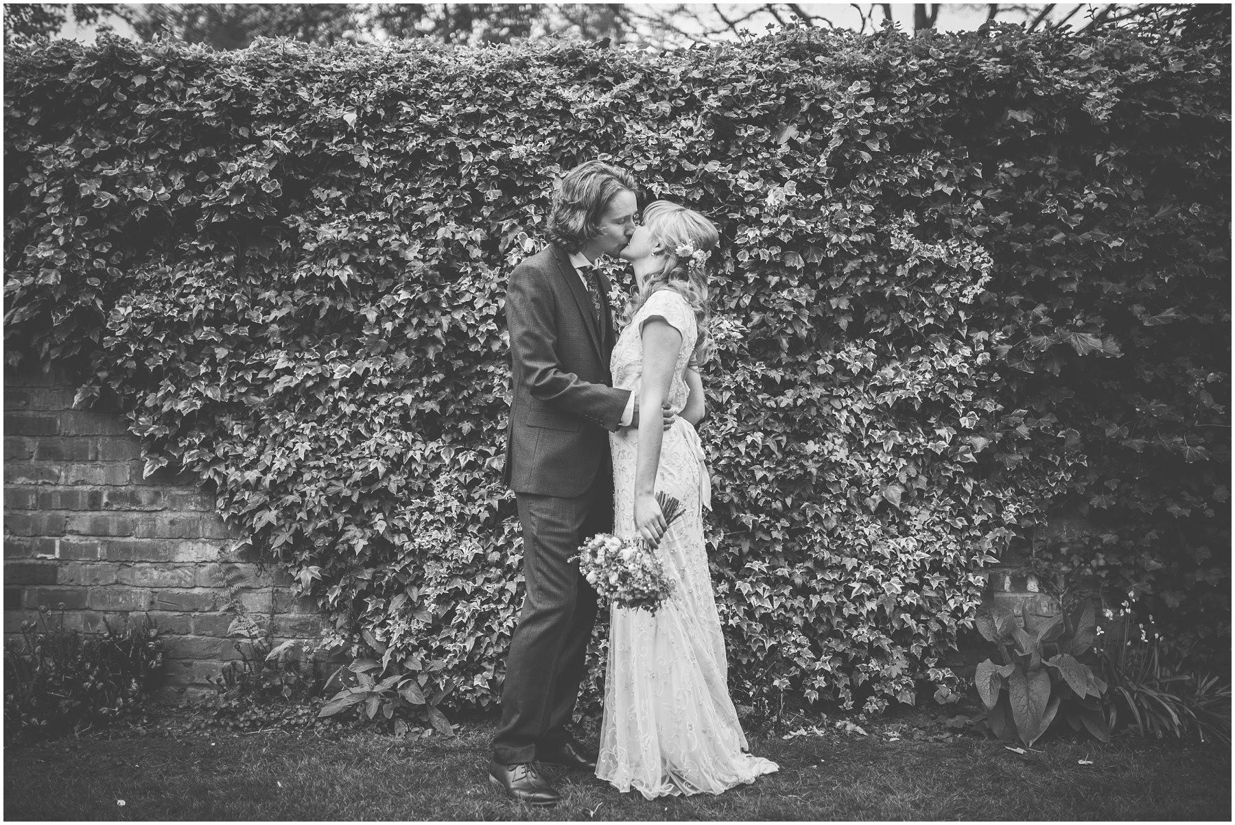 Newlyweds portraits in Didsbury