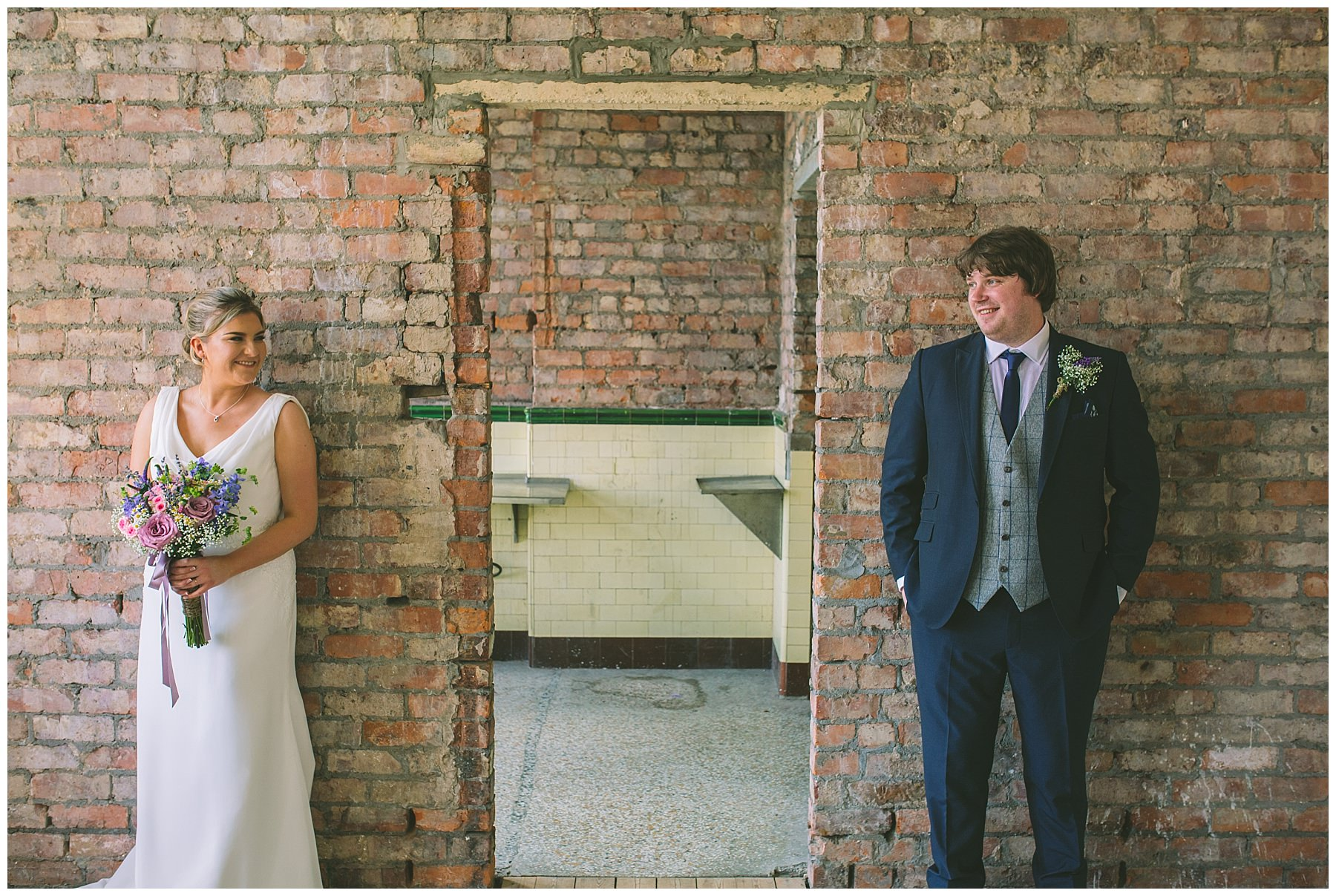 Wedding photography at Victoria Baths