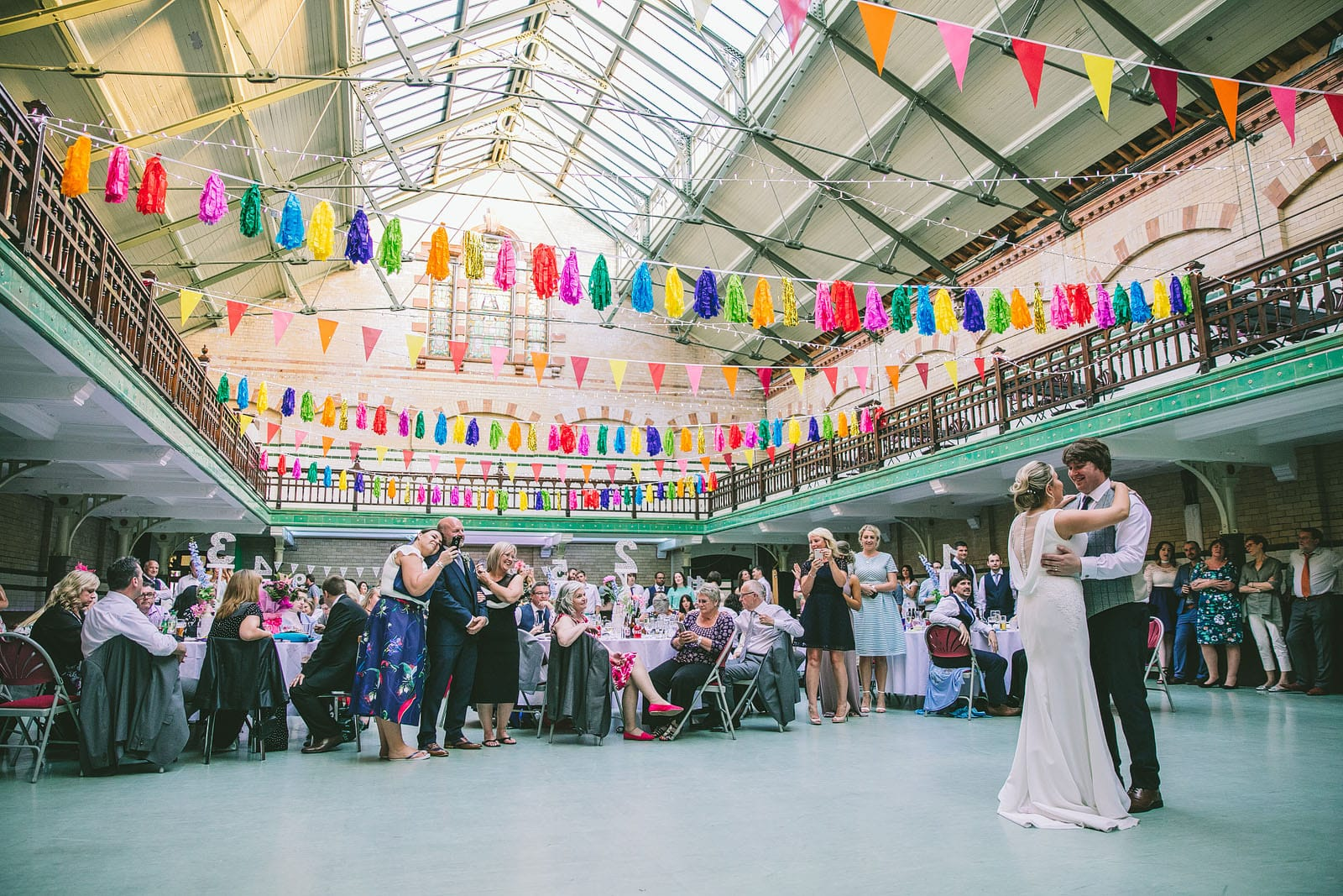 Victoria Baths Manchester Wedding