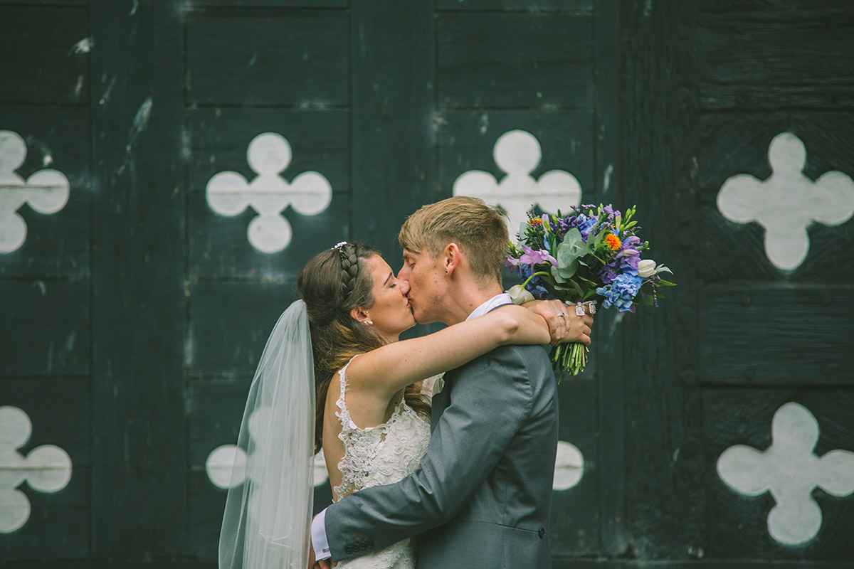 Wedding Kiss Photograph