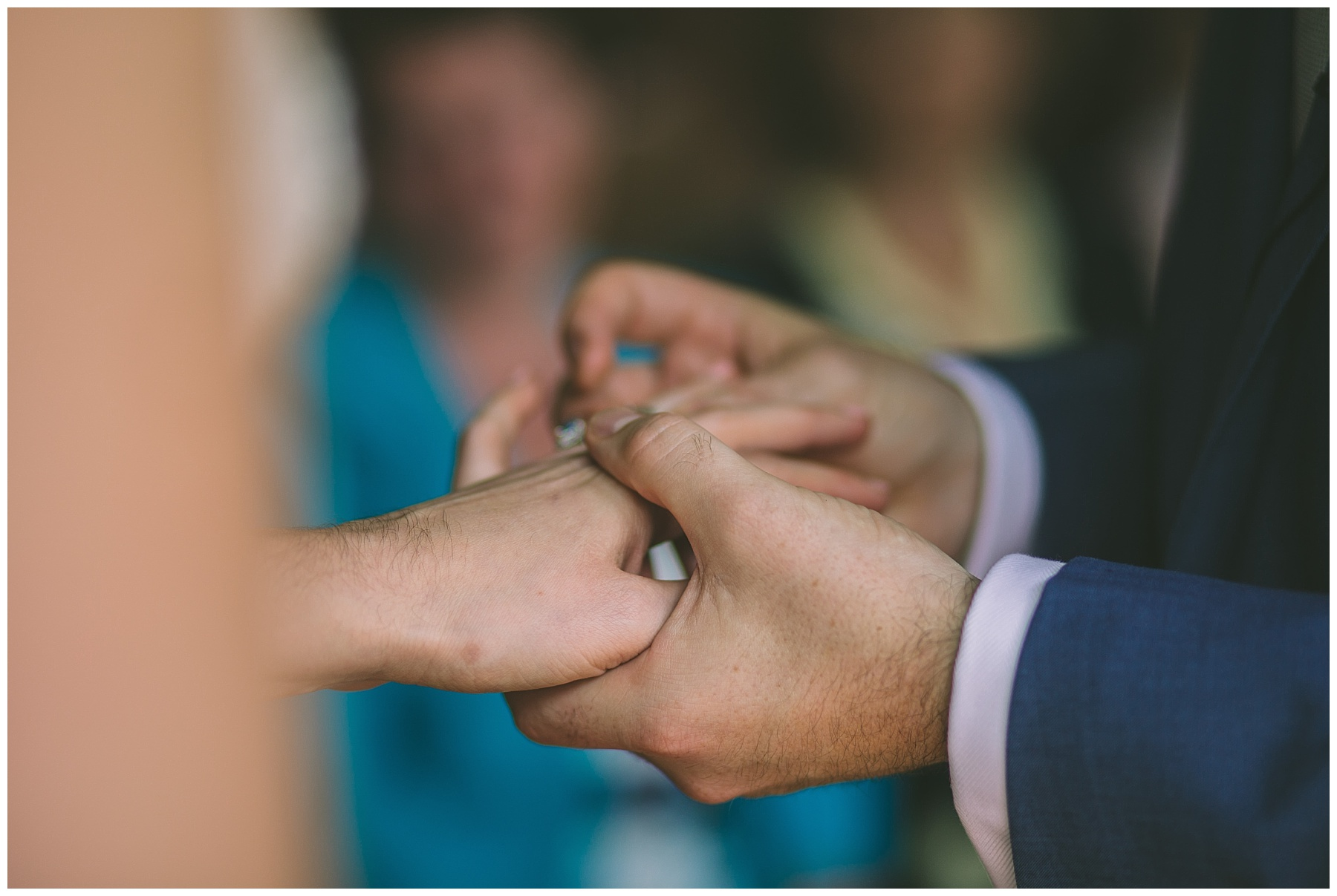 Ring Exchange at Didsbury Wedding