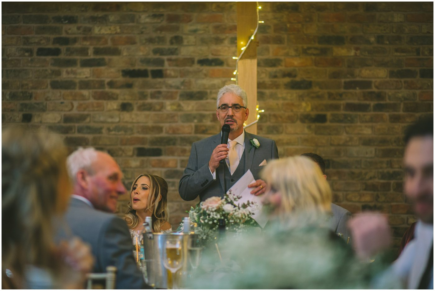 father of the brides speech at Pryors Hayes