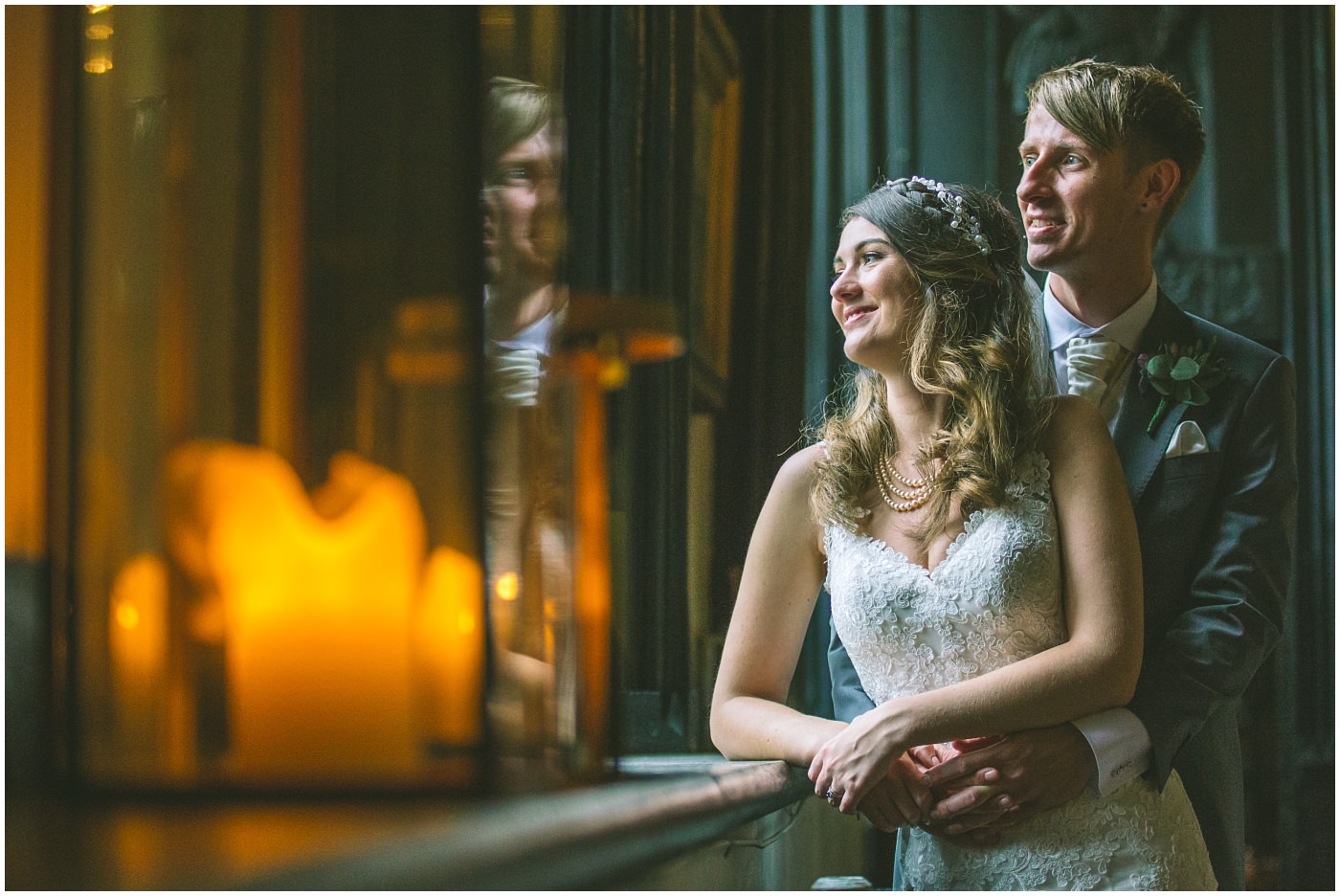 Couples portraits in the halls at samlesbury
