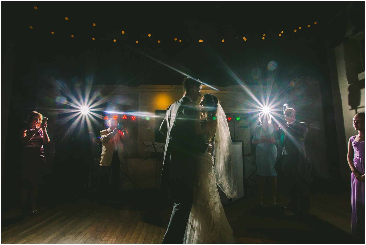 married couple have their first dance