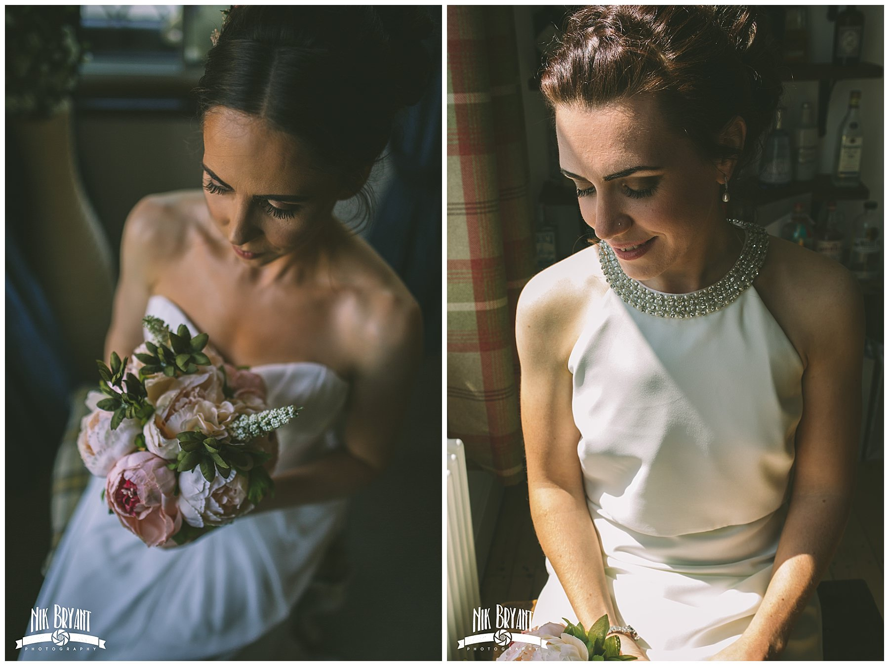 Bridal portraits for a Lancashire Wedding