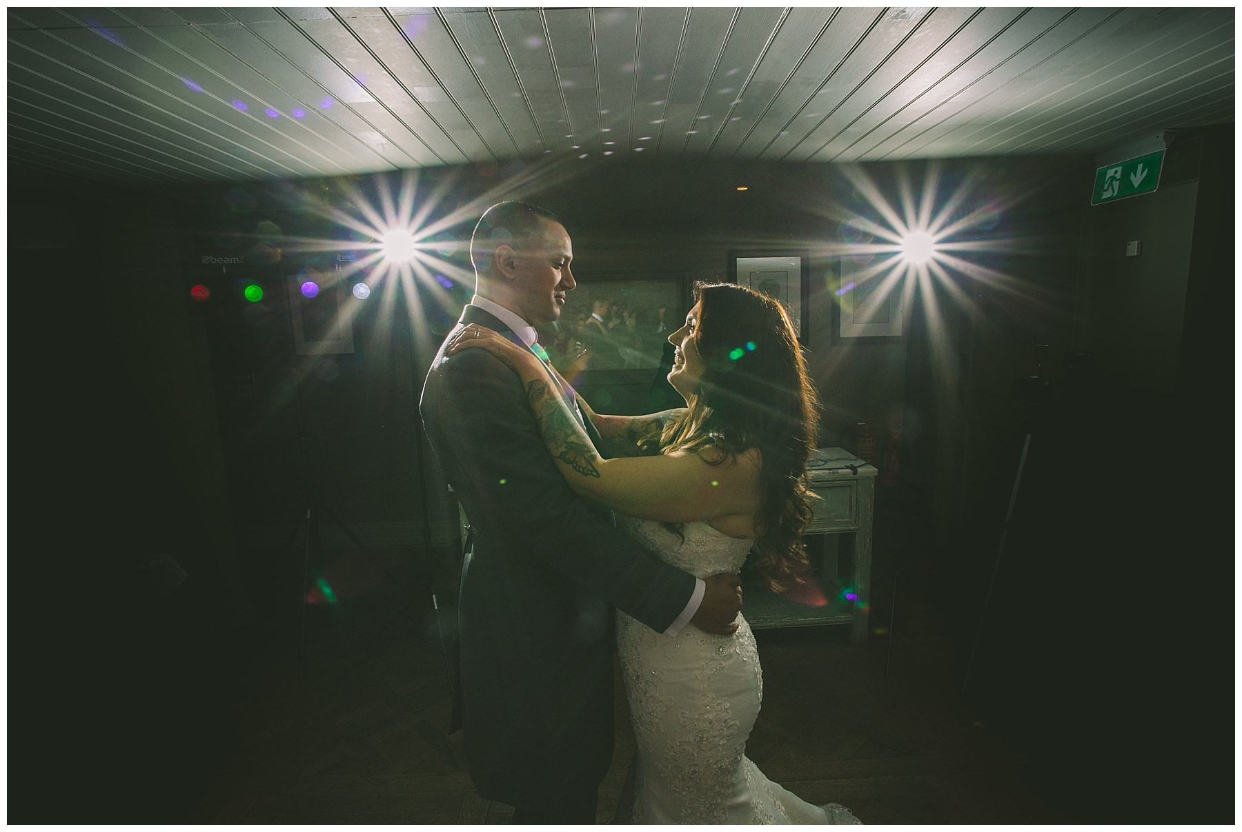 First dance at king street town house wedding