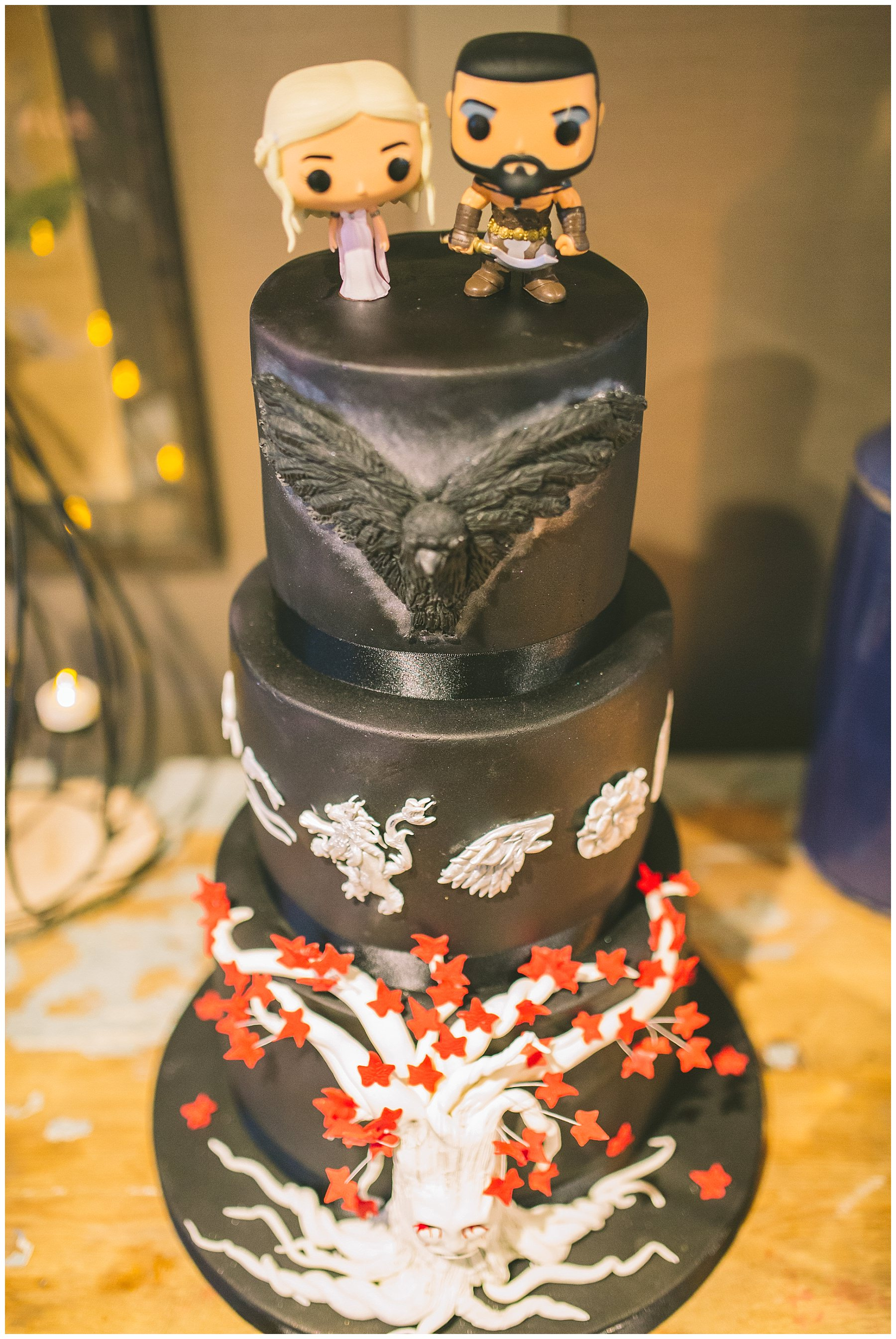 Black Wedding Cake Inspiration