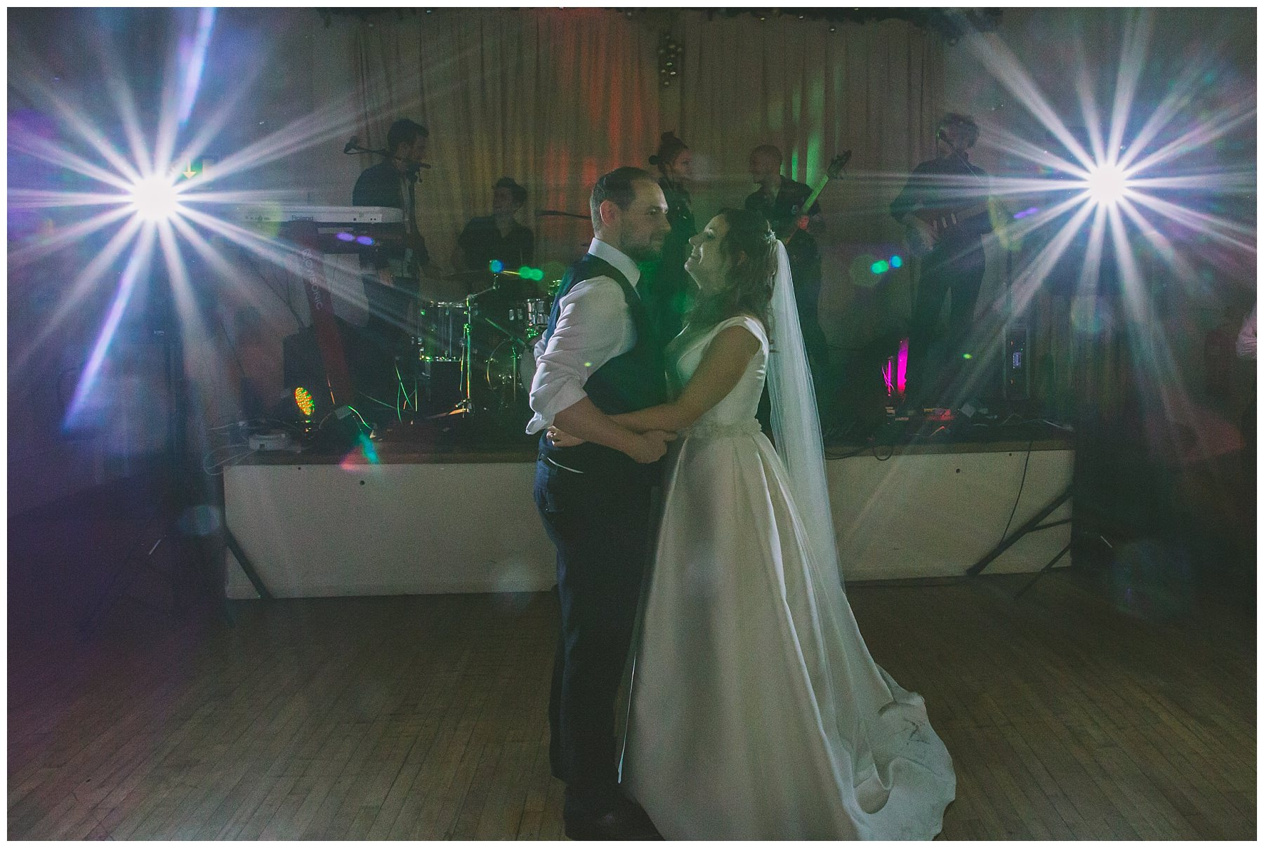 Couple enjoy first dance at Ramsbottom wedding