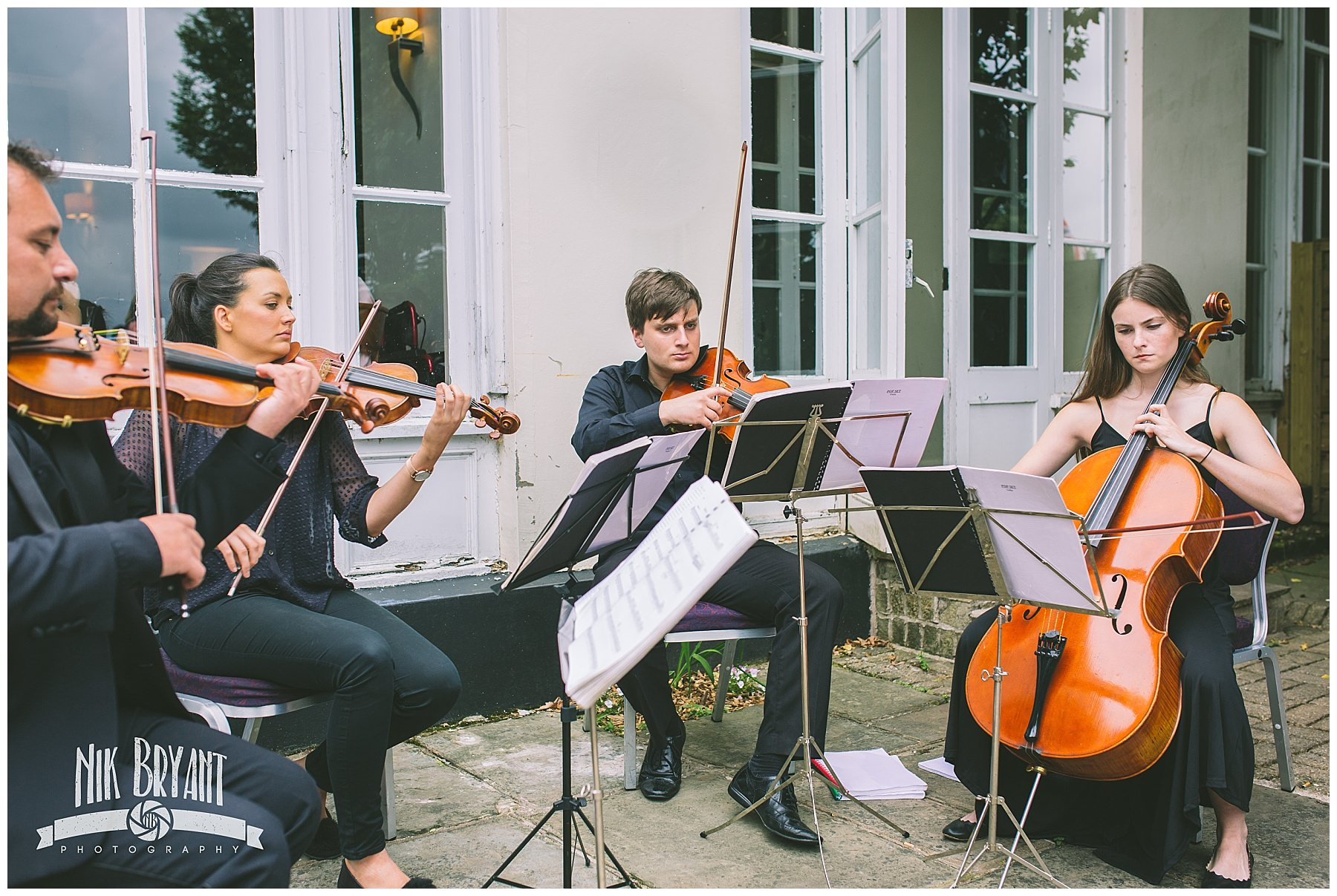 Northern string quartet at shrigley hall hotel