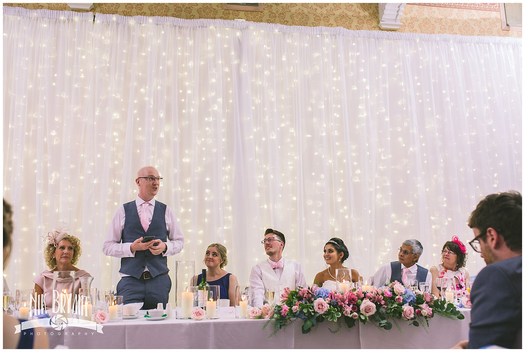 Best mans speech at shrigley hall