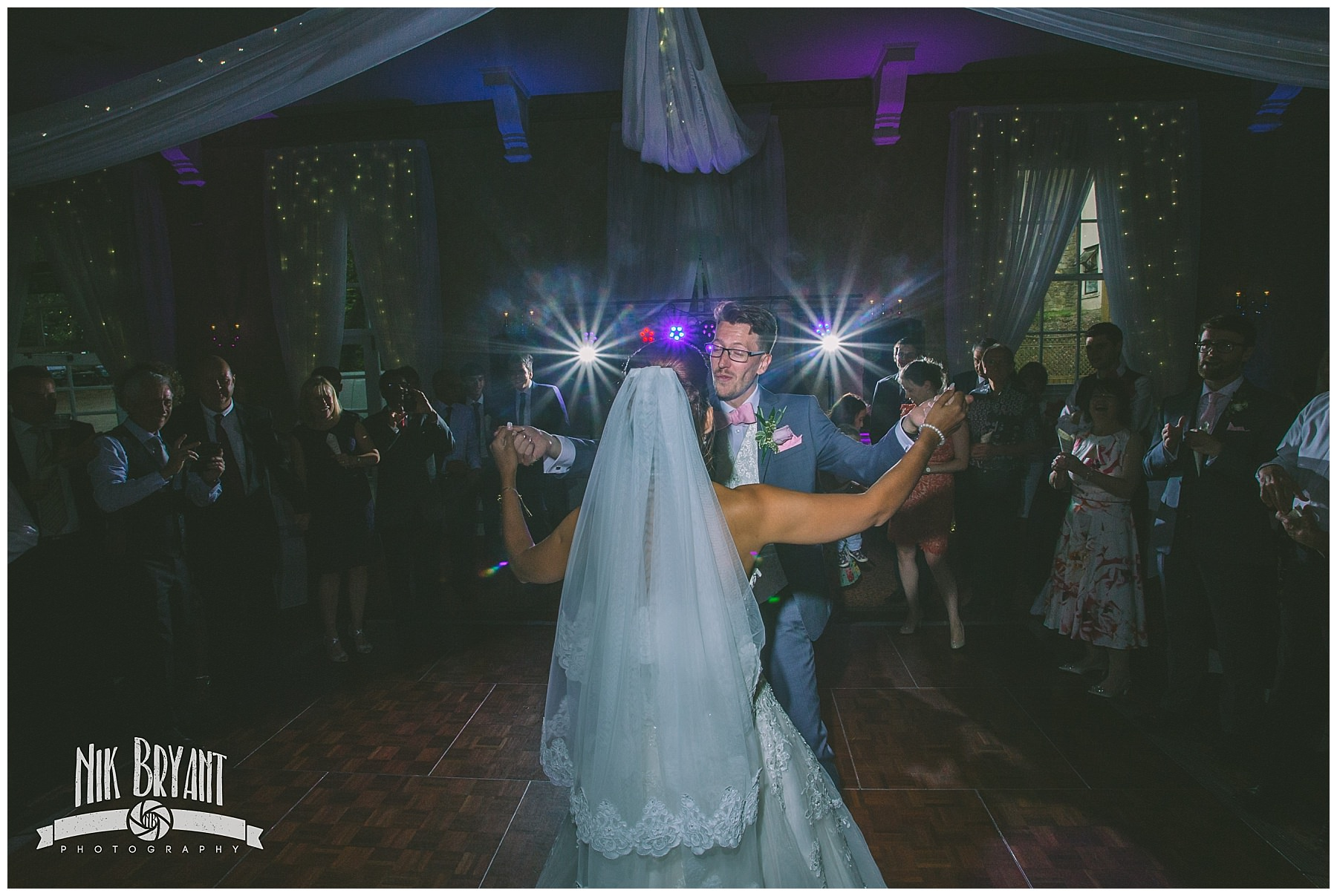 First dance at shrigley hall hotel