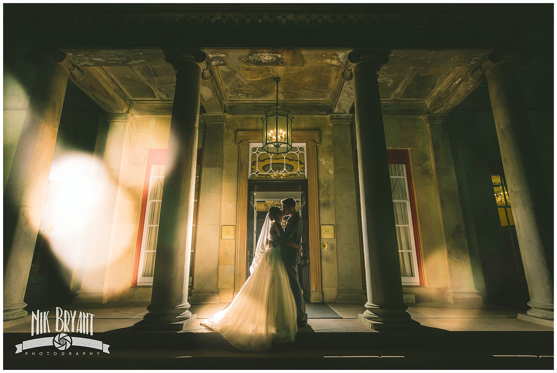 Creative shrigley hall wedding photography