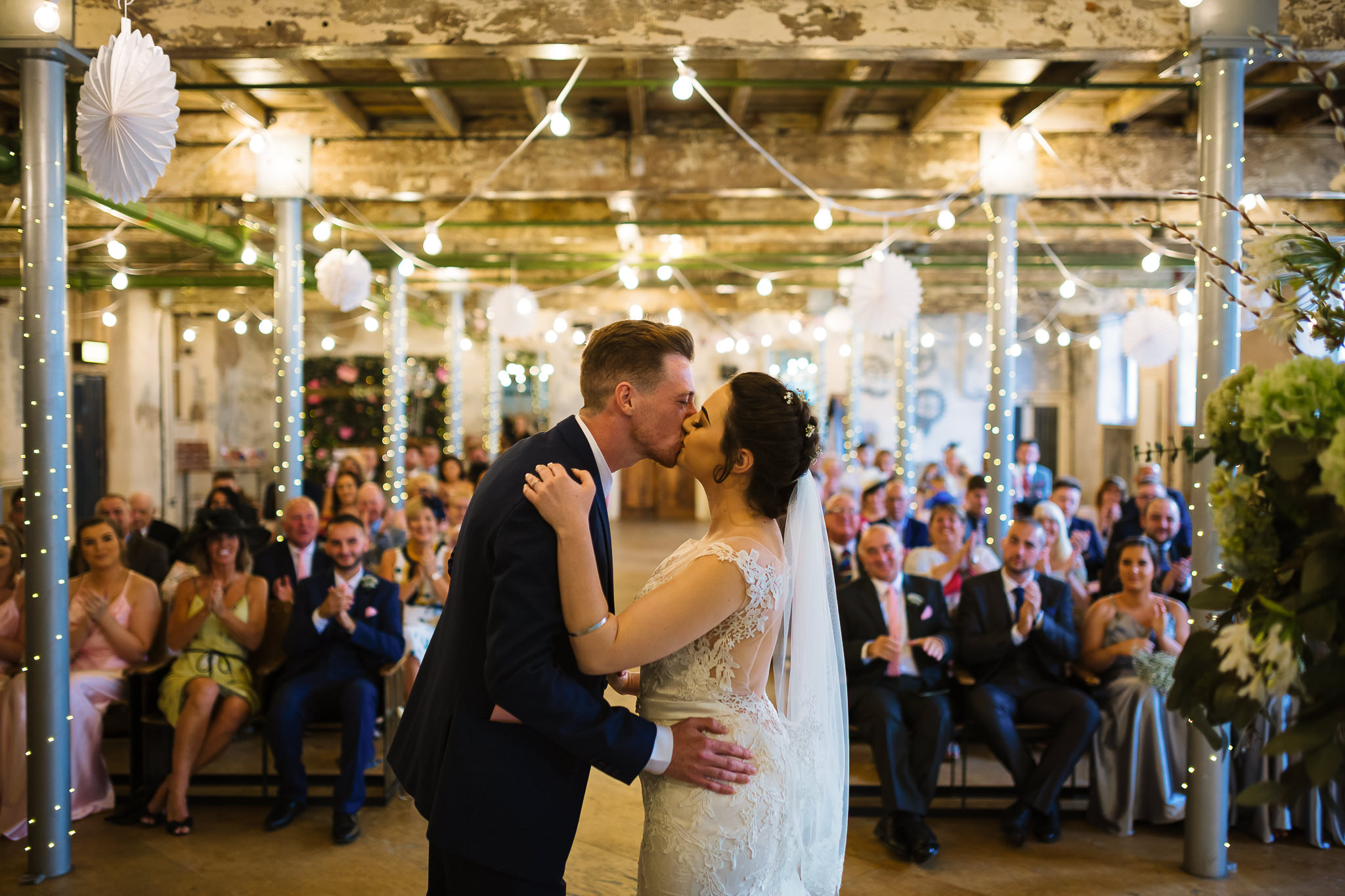 Holmes Mill Wedding Ceremony