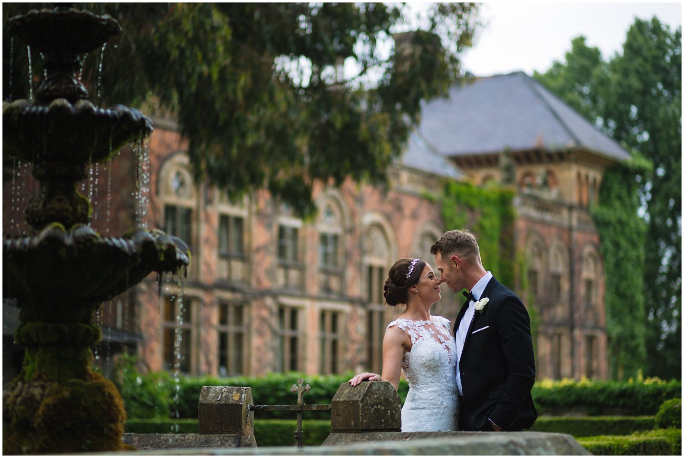 wedding portraits at Soughton Hall
