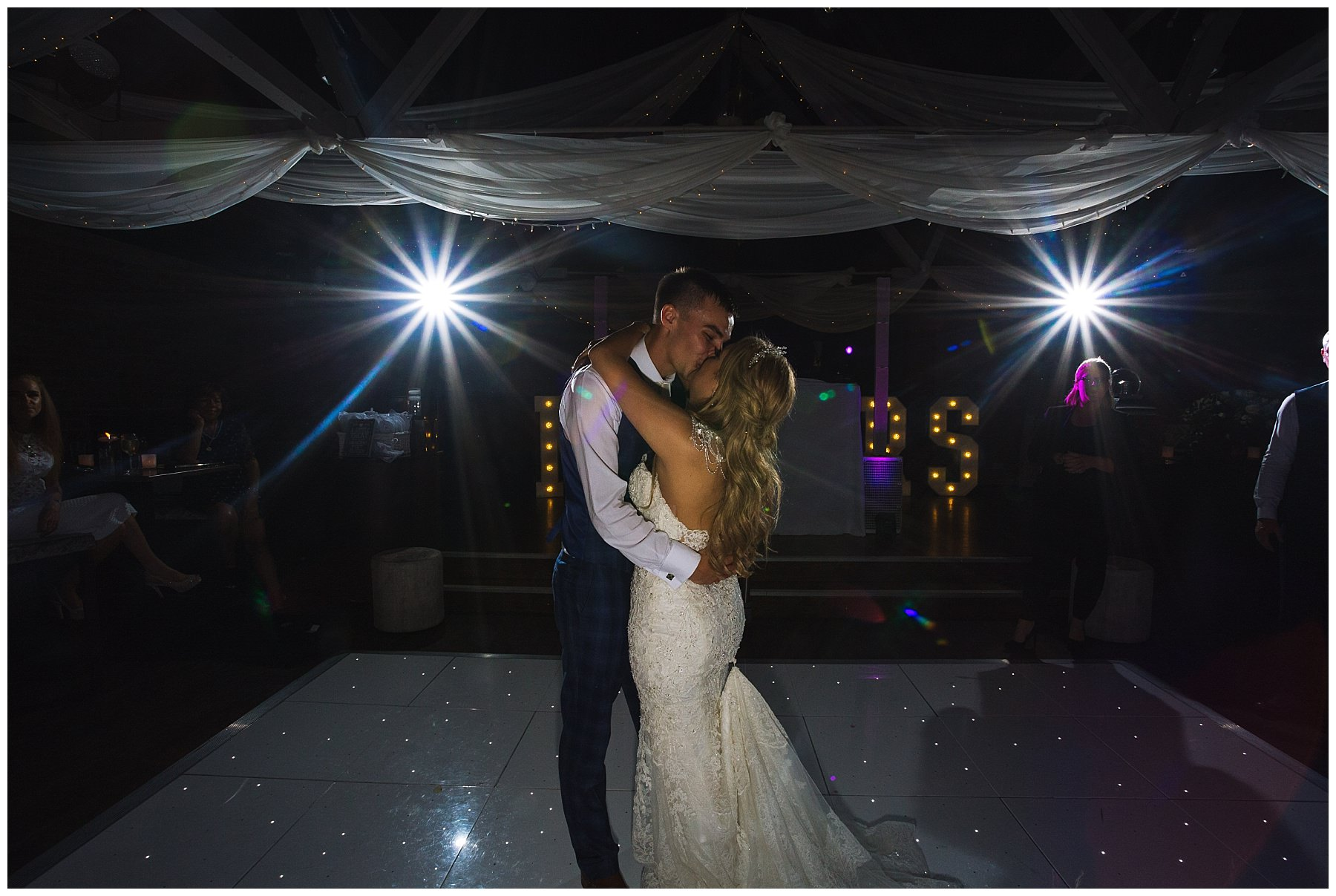 Stunning first dance at Bartle Hall