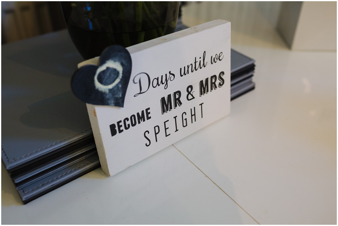 wedding countdown sign inspiration