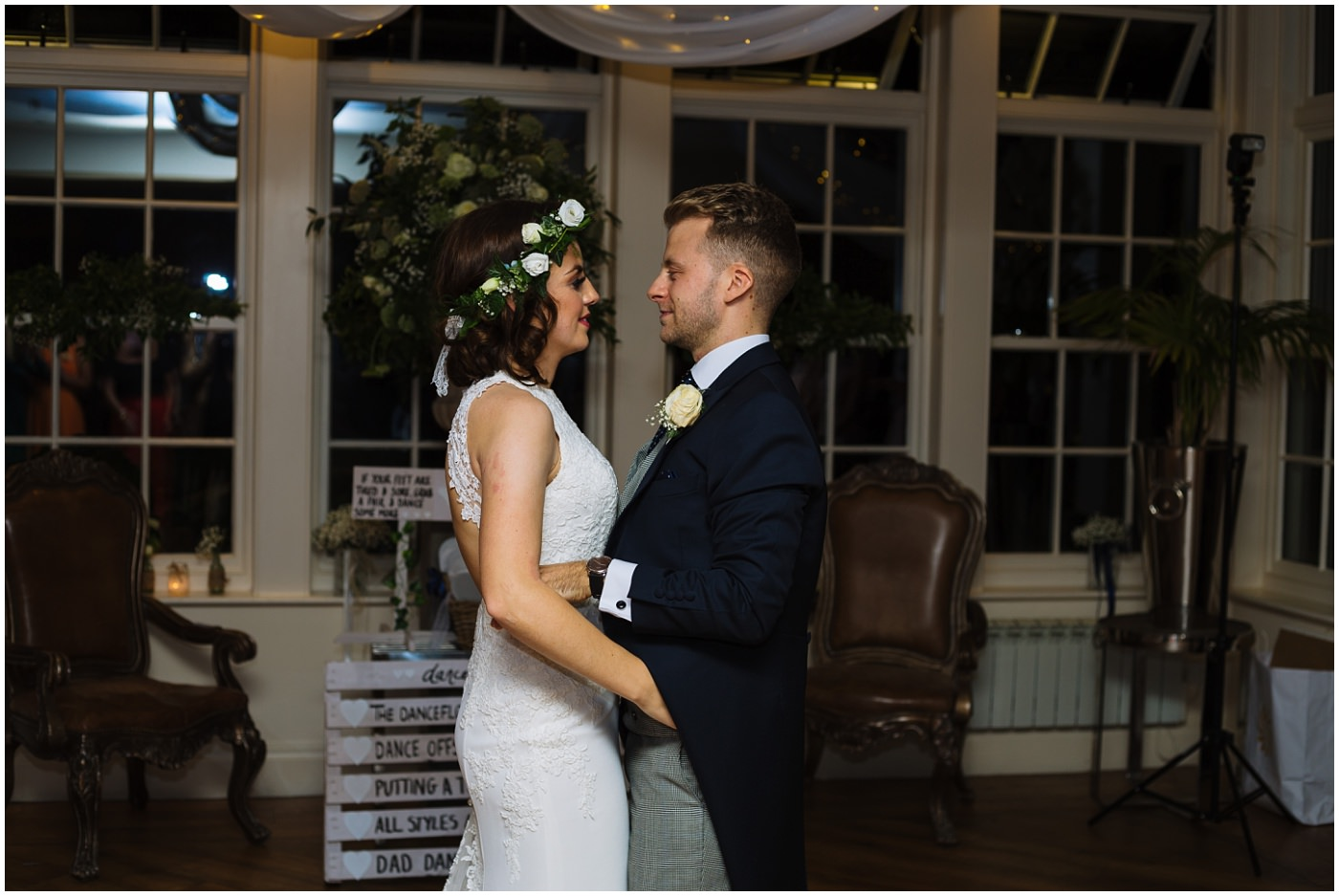 Mitton Hall Wedding first dance