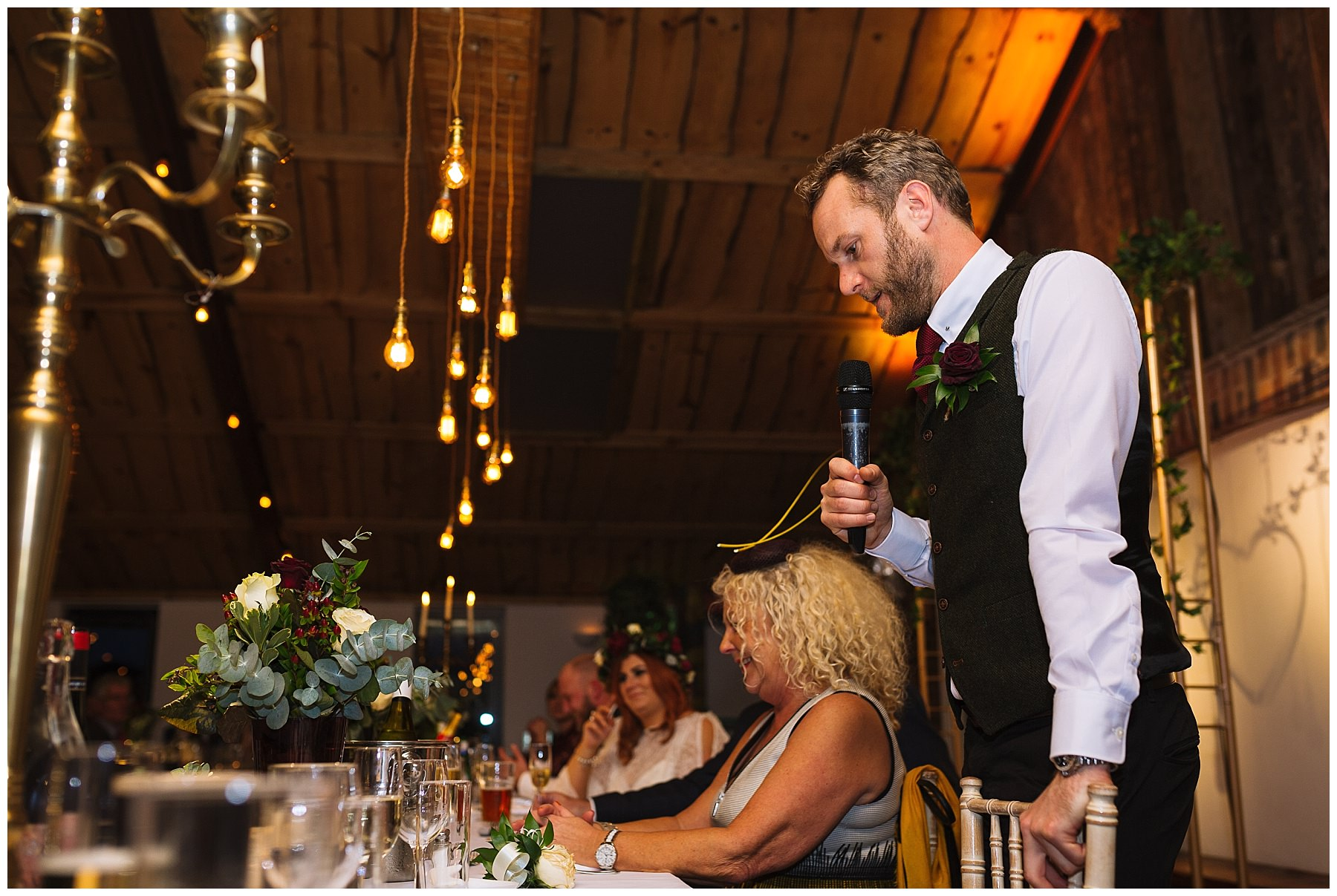 Best Mans Speech at Owen House Wedding Barn