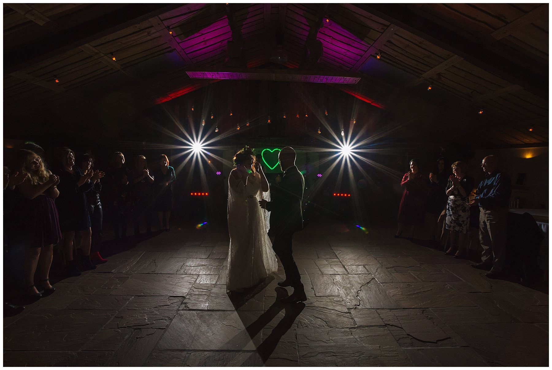 First Dance at Owen House Wedding Barn
