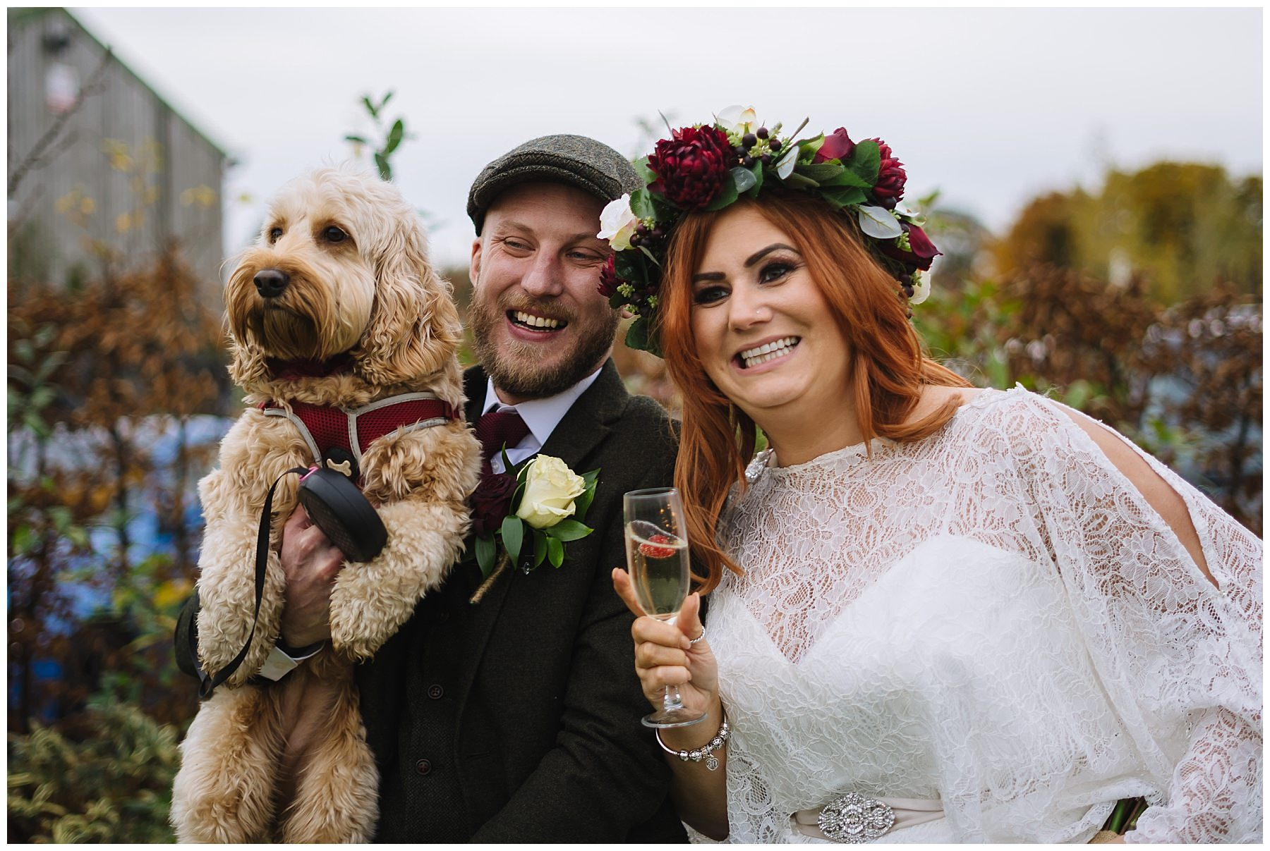 Dogs at weddings inspiration