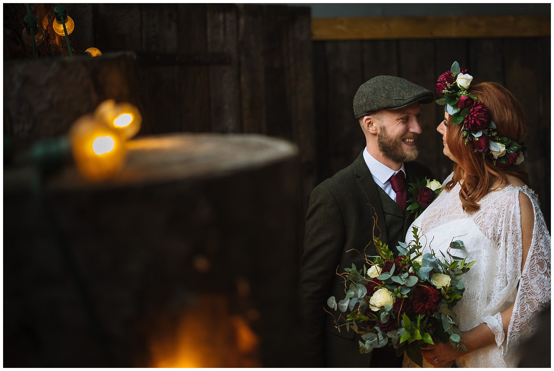 Bridal Portraits at Owen House Wedding Barn