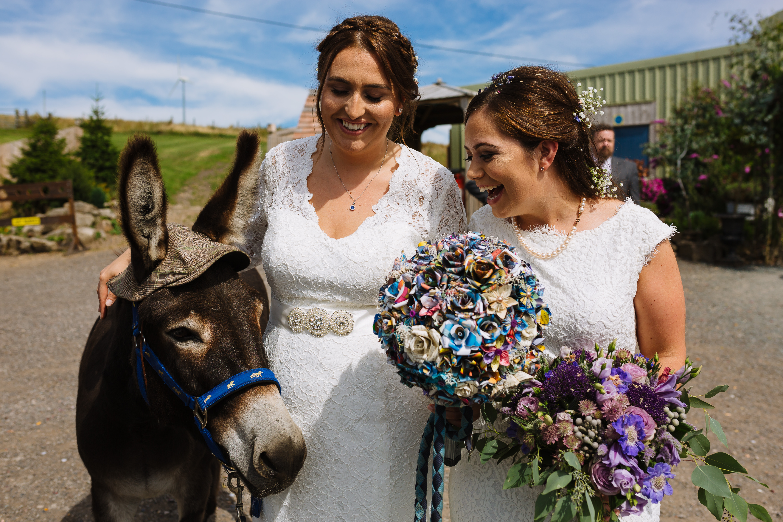 Wellbeing Farm Wedding Photography // Ashleigh and Kayleigh