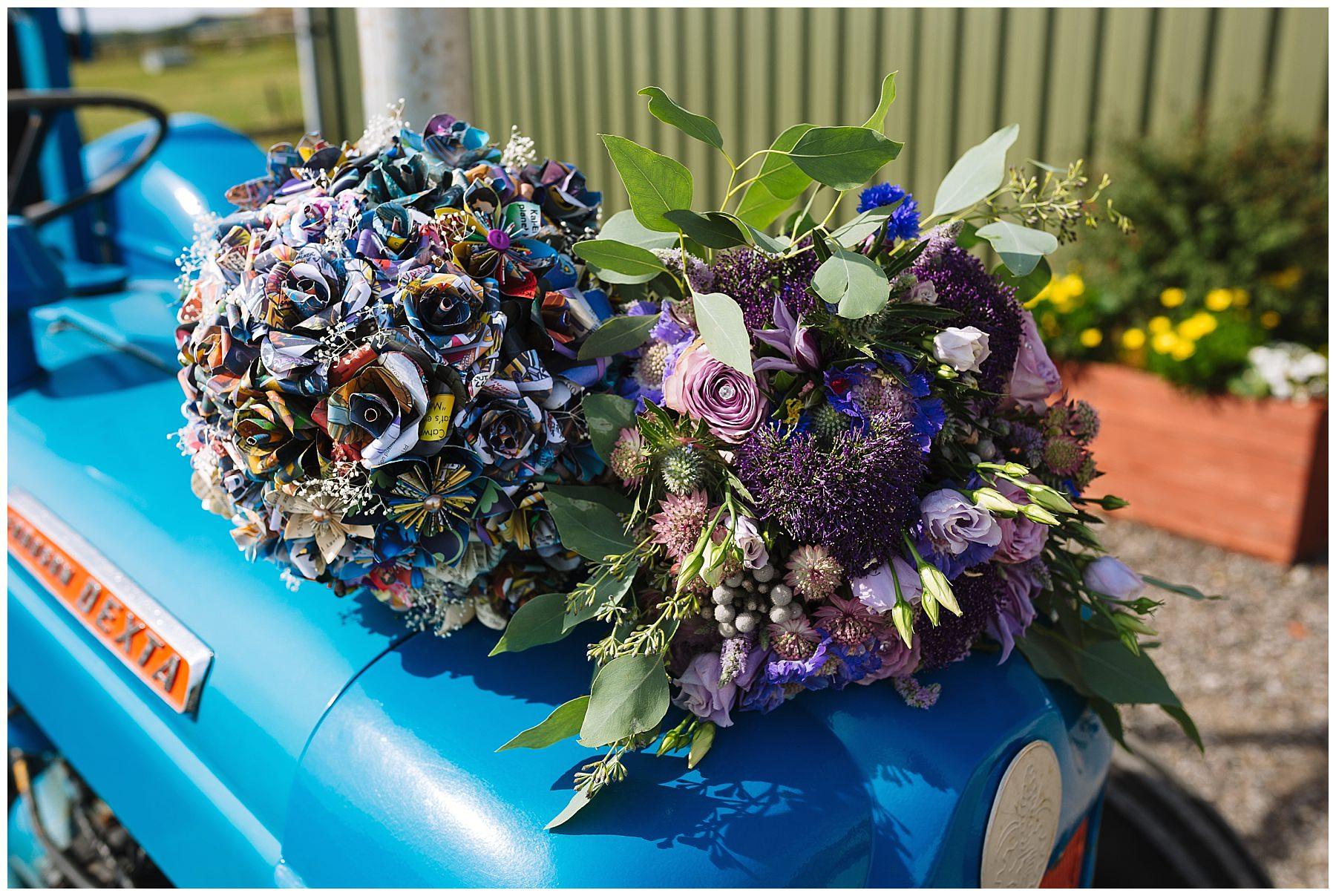 Floral bouquet wedding inspiration