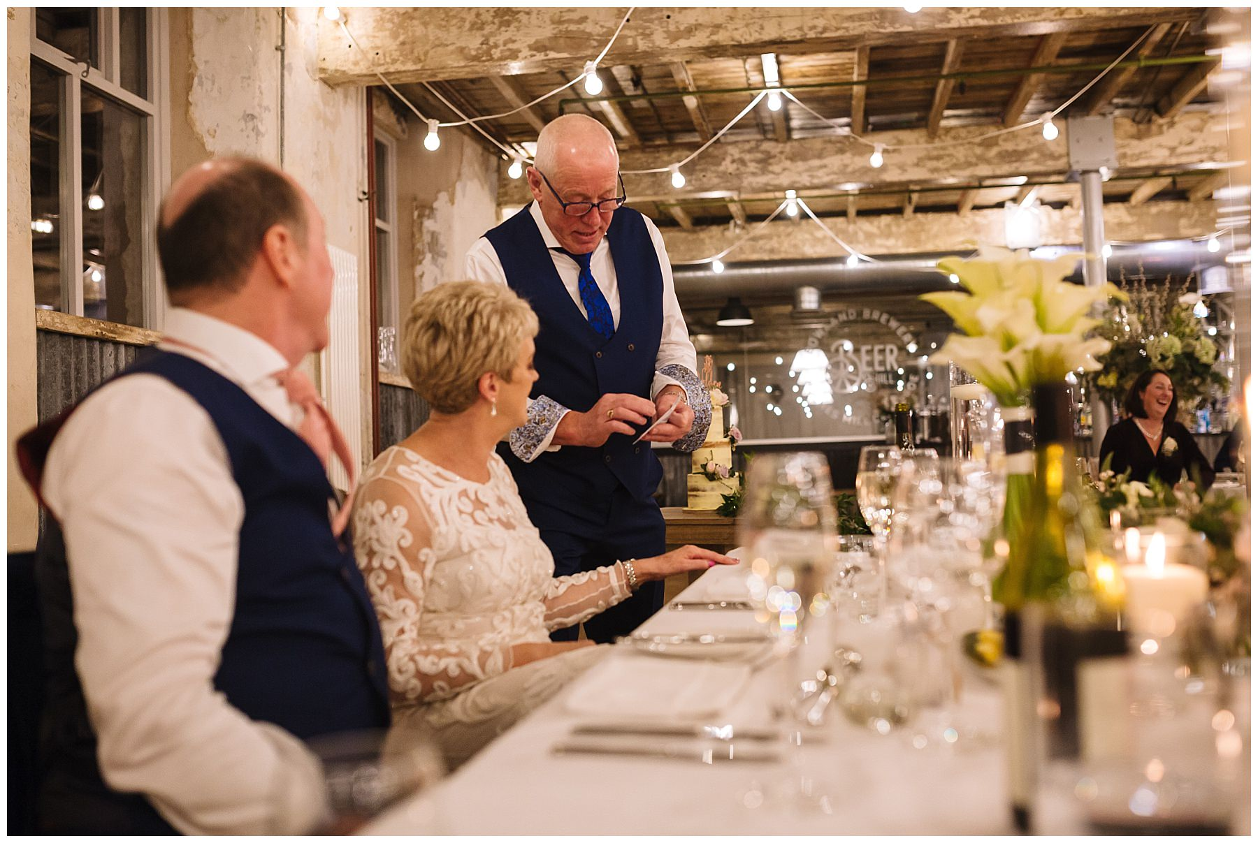 Holmes mill wedding speeches