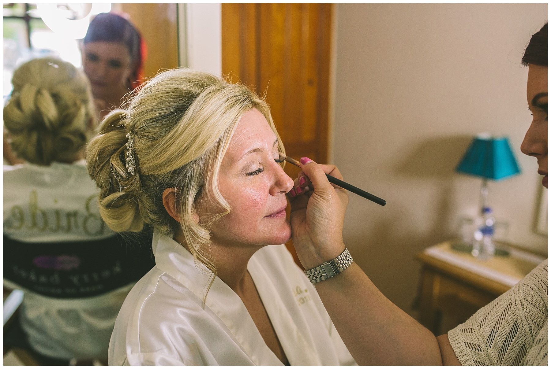 bridal make up at beeston manor
