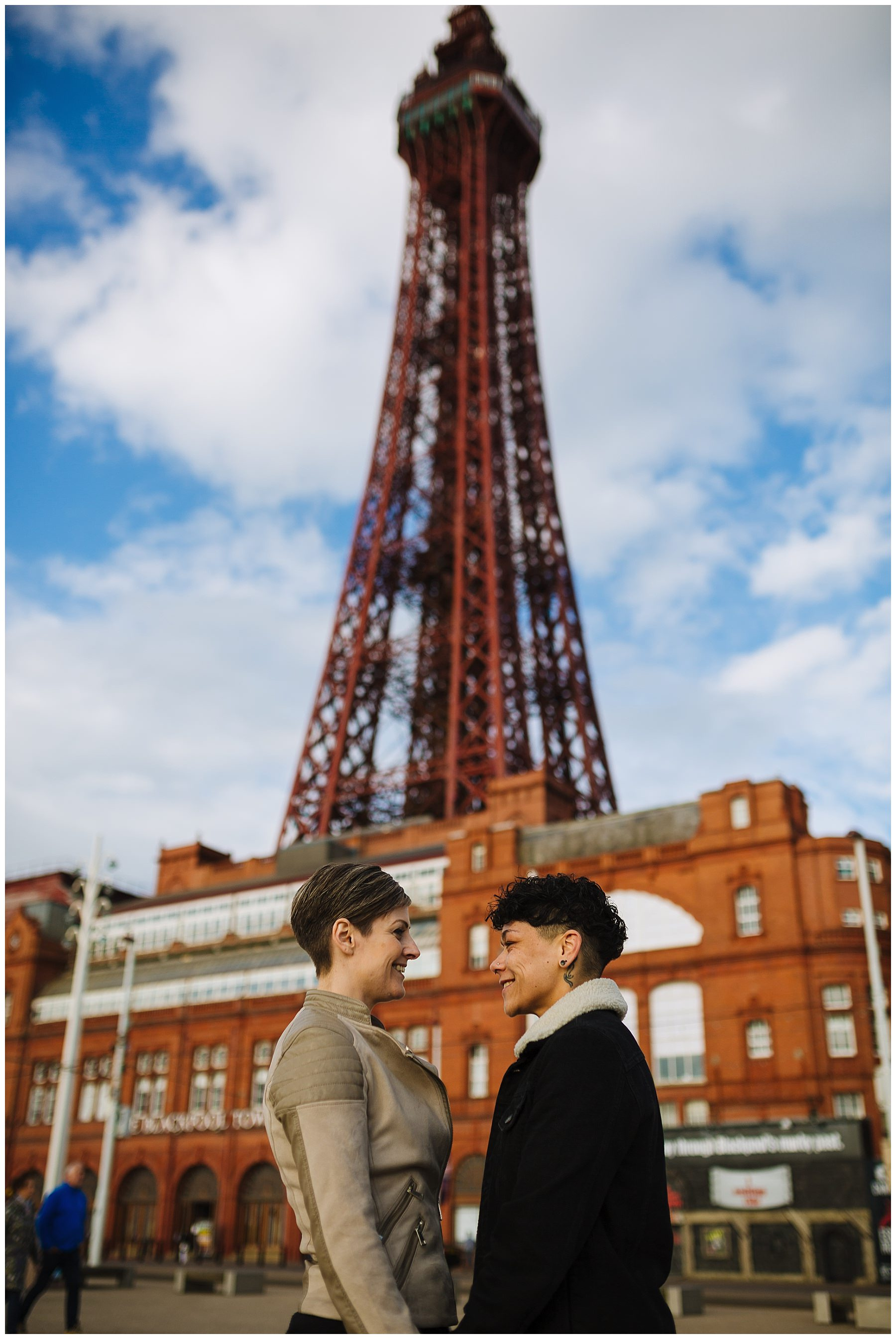 Blackpool pre wedding shoot