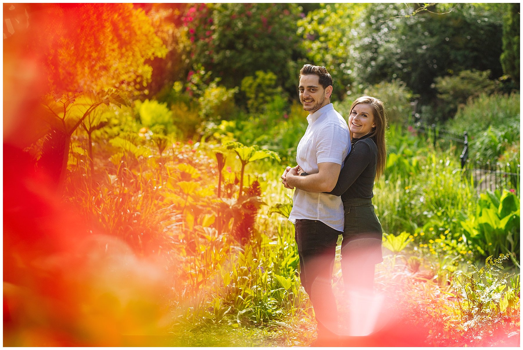 Fletcher Moss Gardens pre wedding photography