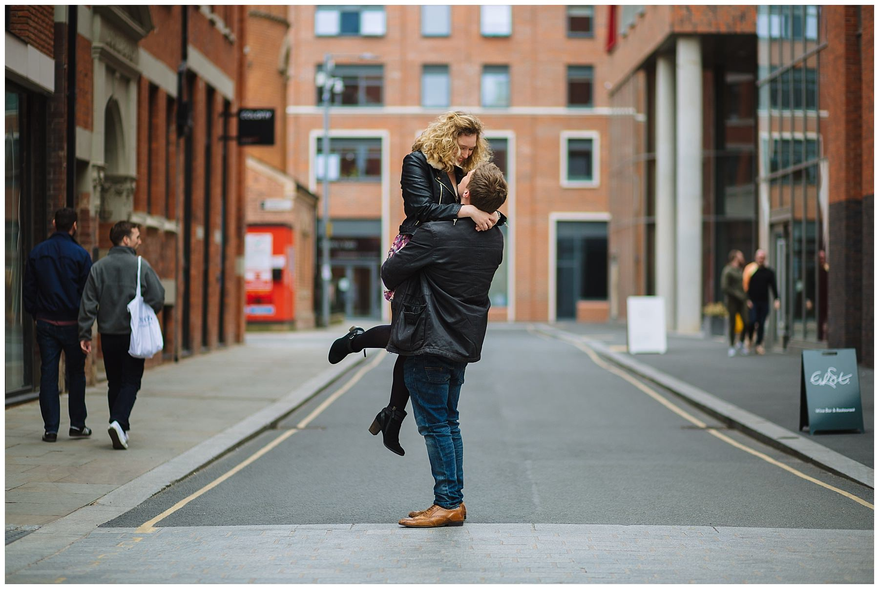 City Centre Engagement Photography
