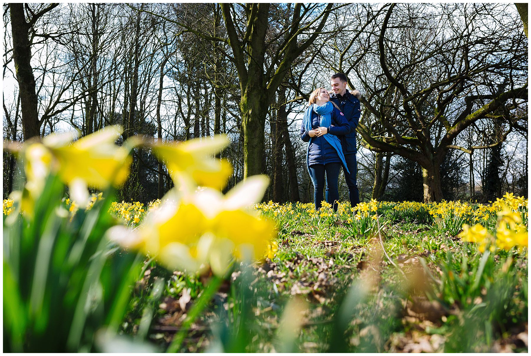Country Park Pre Wedding Shoot