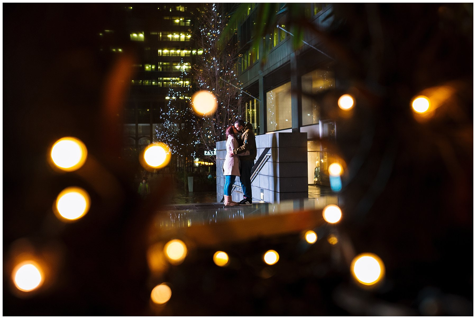 Winter Manchester Engagement Shoot