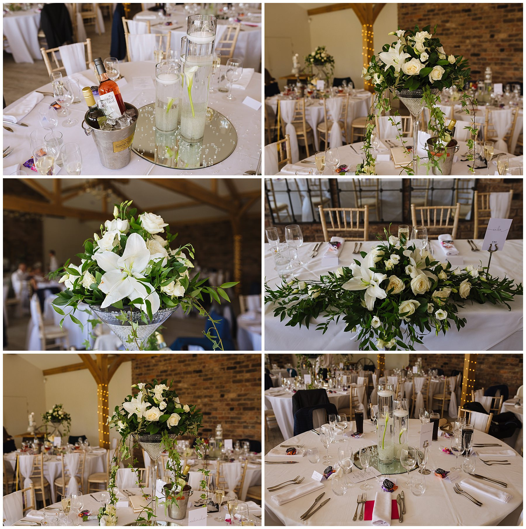 Pryors Hayes venue dressing inspiration