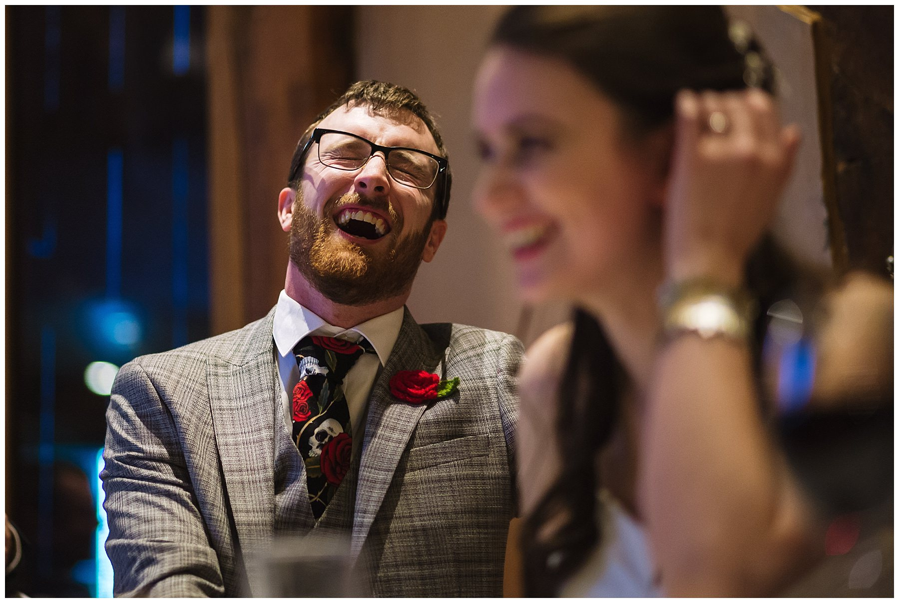 groom reacts to best womans speech
