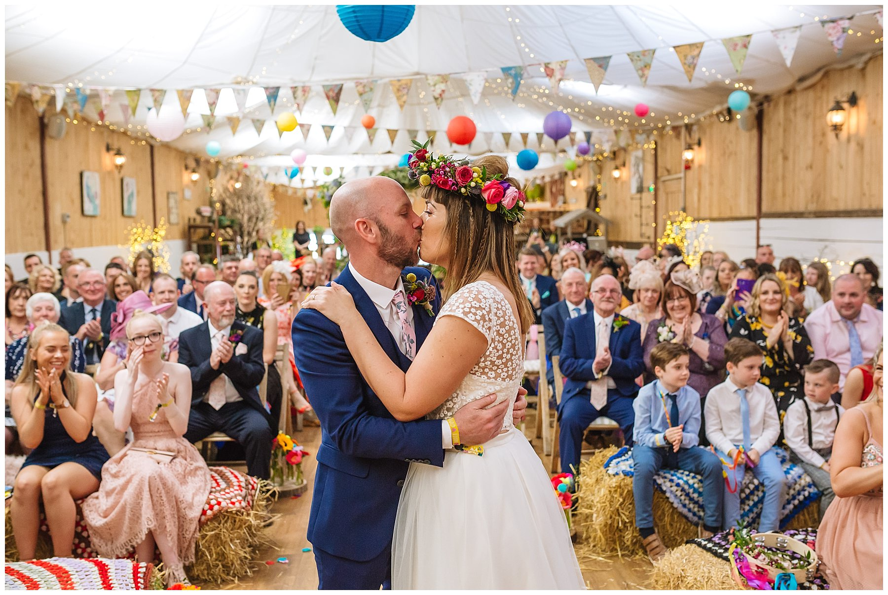 First kiss at the wellbeing farm
